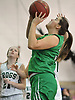 Jaclyn Grzelaczyk #32 of Seaford shoots from inside the paint during a Nassau County Conference ABC varsity girls basketball game against host Carle Place High School on Monday, Jan. 15, 2018. She scored a game-high 19 points to lead Seaford to a 45-31 win.
