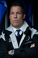 Neil Harris manager of Millwall seen during the Sky Bet Championship match between Millwall and Sheff United at The Den, London, England on 2 December 2017. Photo by Carlton Myrie / PRiME Media Images.