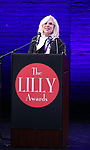 Marsha Norman on stage during the 9th Annual LILLY Awards at the Minetta Lane Theatre on May 21,2018 in New York City.