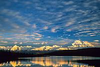 North Face Of 20, 3020+ Ft. Mt. Denali and The Alaska Mountain Range, Wonder Lake, Denali National Park, Alaska.