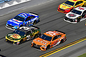 Monster Energy NASCAR Cup Series<br /> Daytona 500<br /> Daytona International Speedway, Daytona Beach, FL USA<br /> Sunday 18 February 2018<br /> Ryan Newman, Richard Childress Racing, Bass Pro Shops / Cabela's Chevrolet Camaro, Daniel Suarez, Joe Gibbs Racing, ARRIS Toyota Camry, Ricky Stenhouse Jr., Roush Fenway Racing, Fastenal Ford Fusion<br /> World Copyright: Logan Whitton<br /> LAT Images
