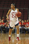 LAS VEGAS, NV - MARCH 7:  Jontelle Smith during Pepperdine's 62-56 win over the St. Mary's Gaels in the 2010 Zappos West Coast Conference Women's Basketball Championships on March 7, 2010 at Orleans Arena in Las Vegas Nevada.
