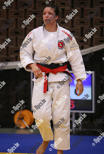 2008-10-18 / Judo / VK Herentals / Dames -70 / Laure Aerts (ANT)..Foto: Maarten Straetemans (SMB)