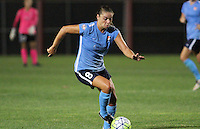 Piscataway, NJ - Wednesday Sept. 07, 2016: Erica Skroski during a regular season National Women's Soccer League (NWSL) match between Sky Blue FC and the Orlando Pride FC at Yurcak Field.