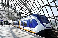 Nederland - Amsterdam 2018. Trein bij Station Sloterdijk.  Foto Berlinda van Dam / Hollandse Hoogte.