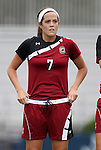 21 August 2011: South Carolina's Elizabeth Sinclair. The Duke University Blue Devils defeated the University of South Carolina Gamecocks 2-0 at Koskinen Stadium in Durham, North Carolina in an NCAA Women's Soccer game.