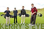 Kerry Boys Co Championship at Ballybunnion Golf Club on Friday 16 July: .Ronan Lucey Kenmare, Connor Maye Kenmare, John Moran Tralee, .Dan G Harnett Abbeyfeale