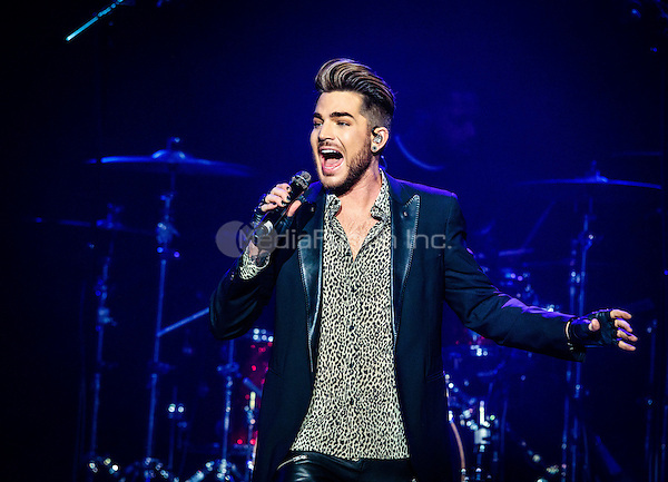 LAS VEGAS, NV - December 5, 2015: ***HOUSE COVERAGE*** Adam Lambert performs at The Joint at Hard Rock Hotel & Casino in Las vegas, NV on December 5, 2015. Credit: Erik Kabik Photography/ MediaPunch