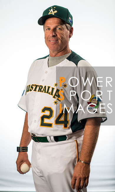 Jon Deeble of Team Australia poses during WBC Photo Day on February 25, 2013 in Taichung, Taiwan. Photo by Andy Jones / The Power of Sport Images