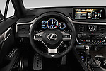 Car pictures of steering wheel view of a 2016 Lexus RX F SPORT 5 Door Suv 2WD Steering Wheel