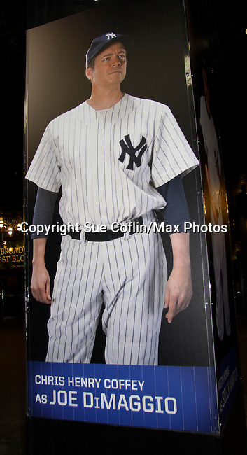 """Chris Henry Coffey - """"Rex"""" - Guiding Light & OLTL & ATWT -  Bronx Bombers on February 9, 2014 at Circle in the Square Theatre, New York City, New York. (Photo by Sue Coflin/Max Photos)"""