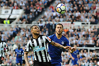 DeAndre Yedlin of Newcastle United battles with Eden Hazard of Chelsea during Newcastle United vs Chelsea, Premier League Football at St. James' Park on 13th May 2018