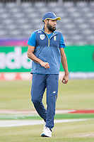 Imran Tahir (South Africa) during South Africa vs West Indies, ICC World Cup Warm-Up Match Cricket at the Bristol County Ground on 26th May 2019