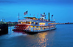 Louisiana, New Orleans, Natchez Steamboat, Mississippi River