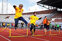 De Open Dag is hét evenement van het jaar voor de Johan Cruyff Foundation. Sportdag in het Olympisch stadion voor kinderen mét en zonder handicap.