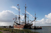 Schip de Batavia in Lelystad