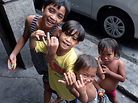 Street Children in Manila, Philippines