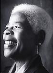smiling portrait of elder woman