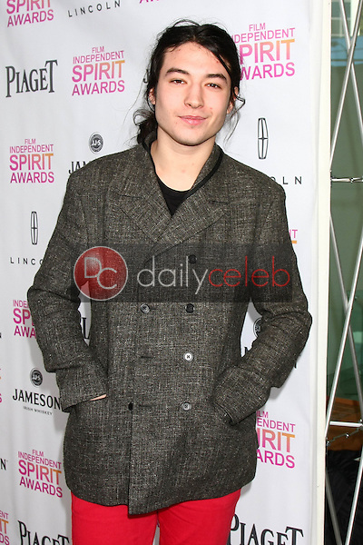 Ezra Miller<br />