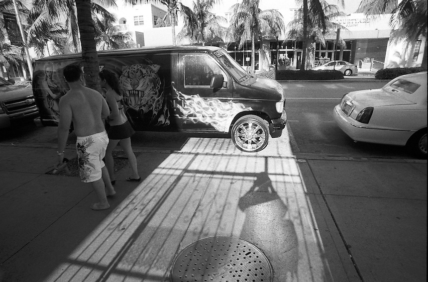 "Club ""Madonna""<br /> From ""Miami in Black and White"" series.<br /> Miami Beach, FL, 2010"