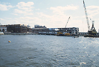 1985 March 05..Redevelopment.Downtown West (A-1-6)..CONSTRUCTION PROGRESS VIEWS.FREEMASON HARBOUR.PIER A...NEG#.NRHA#..