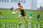 Paul O'Donoghue Austin Stacks in action against Saint Kierans in the Quarter Finals of the County Championship at Austin Stack Park on Sunday.