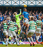11.3.2018 Rangers v Celtic:<br /> Bruno Alves and Scott Bain