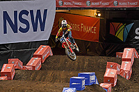 2Stroke Challenge / Uncle Ronnie Mac<br /> Monster Energy Aus-XOpen<br /> Supercross &amp; FMX International<br /> Qudos Bank Arena, Olympic Park NSW<br /> Sydney AUS Sunday 12  November 2017. <br /> &copy; Sport the library / Jeff Crow