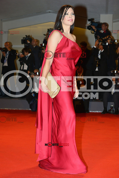 VENICE, ITALY - AUGUST 30: Christa Campbell attends 'The Iceman' Premiere during the 69th Venice International Film Festival at Palazzo del Casino on August 30, 2012 in Venice, Italy AFG / Mediapunchinc