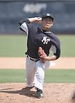 Masahiro Tanaka (Yankees),<br /> SEPTEMBER 15, 2014 - MLB : Masahiro Tanaka of the New York Yankees during a simulated game at Steinbrenner Field in Tampa, Florida, United States.<br /> (Photo by AFLO)