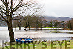 Gone Fishing: The 18th hole at Killarney Golf club under water on Monday