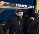 20.02.2020 Rangers v SC Braga: Steven Gerrard
