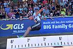 29.06.2019, Stadion Ratingen, Ratingen, DLV, Mehrkampfmeeting im Bild Kai Kazmirek ( LG Rhein-Wird ) beim Weitsprung vor der Zuschauertribüne bei der Landung.<br /> <br /> <br />   <br /> <br /> Foto © nordphoto / Freund