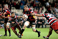 Dominic Bird in action during the Mitre 10 Cup Premiership and Ranfurly Shield match between Canterbury and Counties Manukau at AMI Stadium in Christchurch, New Zealand on Wednesday, 13 September 2017. Photo: Martin Hunter / lintottphoto.co.nz