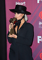 LOS ANGELES, CA. March 14, 2019: Halsey at the 2019 iHeartRadio Music Awards at the Microsoft Theatre.<br /> Picture: Paul Smith/Featureflash