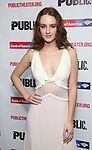"""Grace Van Patten attends the Opening Night Celebration for """"Mother of the Maid"""" on October 18, 2018 at the Public Theatre in New York City."""
