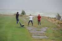 ALGEMEEN: STAVOREN: Storm op het IJsselmeer, ©foto Martin de Jong