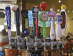 At the Edison's Entertainment Complex in Edwardsville, the beer tapper reflects the wide variety of beers available -- they serve domestic, craft and imported beers on draft.
