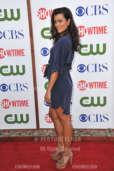 Cote de Pablo, star of NCIS, at the CBS Summer 2011 TCA Party at The Pagoda, Beverly Hills..August 3, 2011  Los Angeles, CA.Picture: Paul Smith / Featureflash