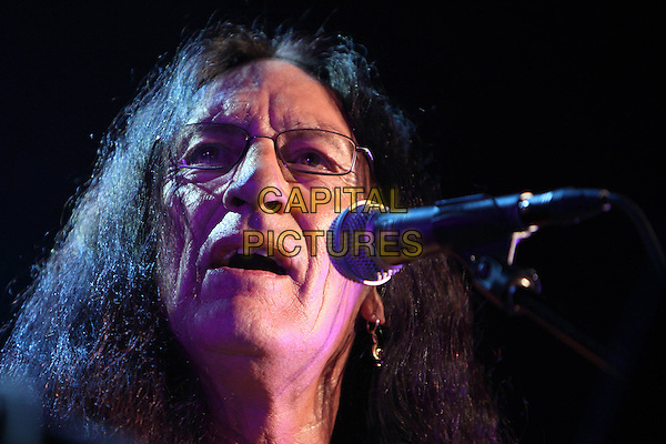 Ken Hensley.Concert in Moscow.April 8th, 2011.on stage in concert live gig performance performing music headshot portrait glasses singing    .CAP/PER/SB.©SB/PersonaStars/CapitalPictures