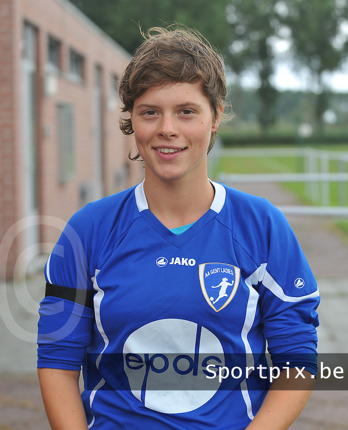 AA Gent Ladies : Lauranne Petit .foto DAVID CATRY / Vrouwenteam.be