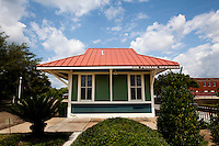The restored L&N Railroad Depot is now home to the Walton County Heritage Museum..COLIN HACKLEY PHOTO