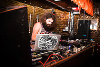 Gaslamp Killer Attends Mfg & Obey Giant Present Dance Right 10 Year Reunion on July 21, 2016 (Photo by Flavio Gonzalez/Guest Of A Guest)
