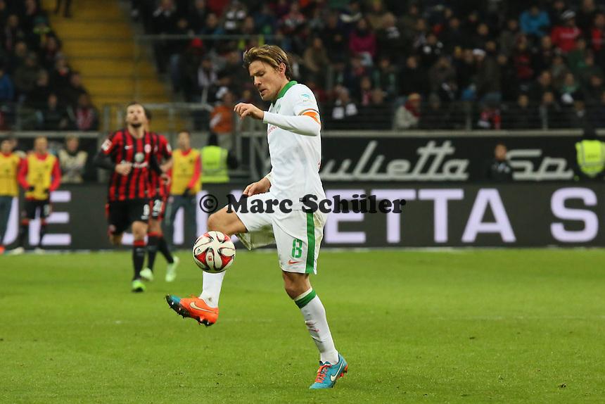 Clemens Fritz (Werder) - Eintracht Frankfurt vs. SV Werder Bremen, Commerzbank Arena