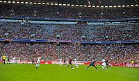 MUNIQUE, ALEMANHA, 31.07.2013 - FUTEBOL INTERNACIONAL / AUDI CUP / BAYERN DE MUNIQUE X SÃO PAULO - Bayern de Munique e São Paulo jogo valido pela semi-finais da Audi Cup no Allianz Arena em Munique na Alemanha, nesta quarta-feira, 31. (Foto: Renate Feil / Pixathlon / Brazil Photo Press)
