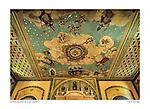 Sanctuary ceiling, Santa Clara de Asís, by Larry Angier.