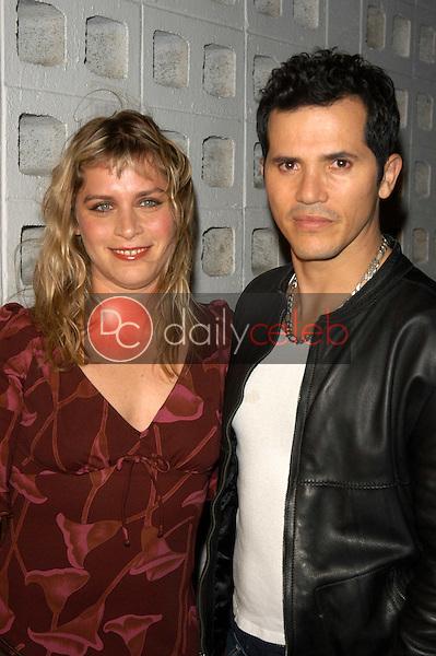 John Leguizamo and Justine Maurer