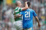 29.04.18 Celtic v Rangers: Scott Brown and Daniel Candeias