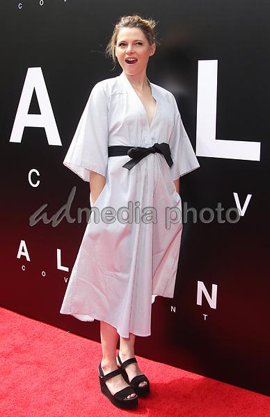17 May 2017 - Hollywood, California - Amy Seimetz. Sir Ridley Scott Hand And Footprint Ceremony. Photo Credit: AdMedia