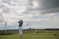 Bernd Wiesberger (AUT) watches his tee shot on 7 during Sunday's round 4 of the 117th U.S. Open, at Erin Hills, Erin, Wisconsin. 6/18/2017.<br /> Picture: Golffile | Ken Murray<br /> <br /> <br /> All photo usage must carry mandatory copyright credit (&copy; Golffile | Ken Murray)